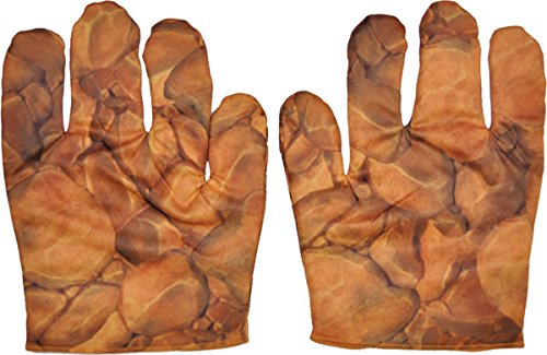 Morris Costumes The Thing Muscle Gloves Adult -