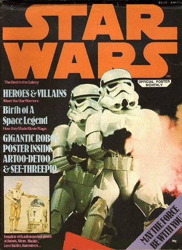 Poster Star Wars Official - STAR WARS OFFICIAL POSTER MONTHLY #1 (K 48772)