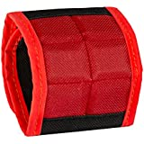 BYKES Magnetic Wristband for Holding Tools, Screws, Nails, Bolts, Drilling Bits. One of The Best Christmas Gifts For Men, Dad, Husband, Relatives, Coworker, Friends & Family. Unique Gift Idea (Large)