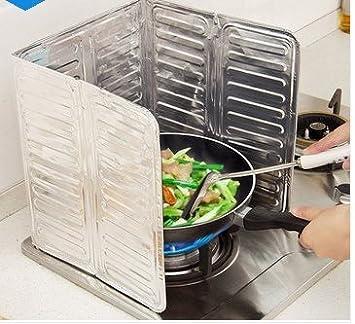 Compra Photizo Cocina Aceite Splash Guard Gas Estufa Cocina Aceite Removal Caliente Prueba Junta Herramienta de Cocina en Amazon.es