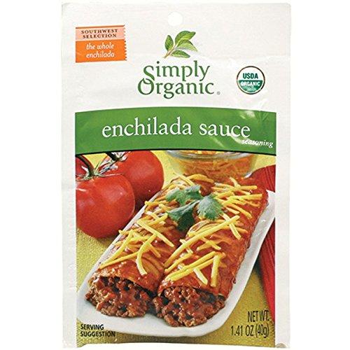 Simply Organic Enchilada Sauce Seasoning (Pack of 3)