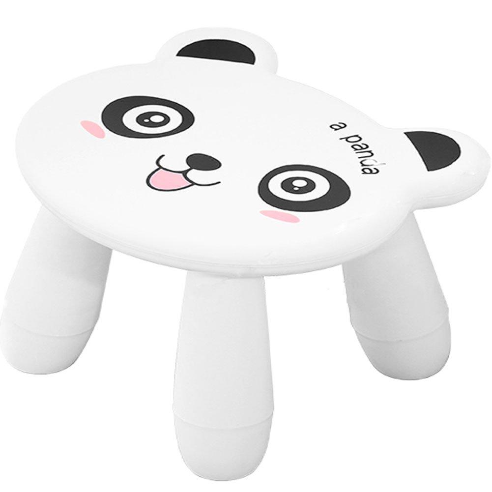 BOER INC Creative Kids Chair Stool Non Slip Step Stool for Kids and children(Panda)
