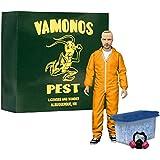 """Mezco 15 cm Breaking Bad """"Jesse Pinkman Hazmat Suit Exclusive"""" Deluxe Action Figure (Orange)"""