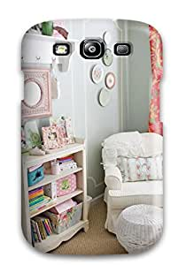 Gary L. Shore's Shop Case Cover Protector For Galaxy S3 Cottage Style Girls Bedroom With Plate Collage On Wall Case