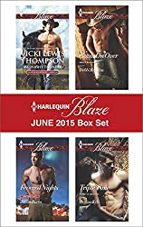 Harlequin Blaze June 2015 Box Set: Midnight Thunder\Fevered Nights\Come On Over\Triple Time