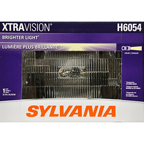 SYLVANIA H6054 XtraVision Halogen Sealed Beam Headlight 142x200, (Contains 1 Bulb) (Cherokee Jeep Headlight 1992)