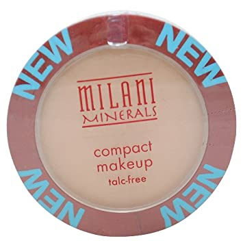 Milani Minerals Compact Makeup, Nude Buff 102 .27 oz 7.72 g