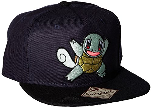 Squirtle Costume Kid (BIOWORLD Pokemon Squirtle Color Block Snapback Hat Cap)