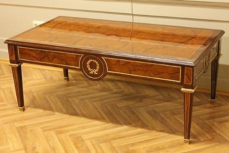 Tavolino Rotondo Da Salotto Antico.Tavolino Da Salotto Barocco Rococo In Stile Antico Louis Pre