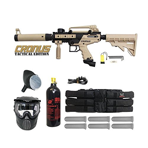 Paintball Complete - Tippmann Cronus Paintball Marker Gun Player Package