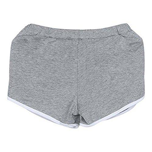 Da Pantaloni Grigio Donna Estivi Juleya Allenamento Nuovi Pantaloncini Sportivi Palestra 4qwag1g