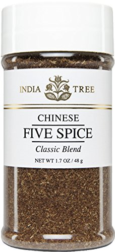 India Tree Chinese Five Spice, 1.7 oz (Pack of 3) - Chinese Spice Five Seasoning