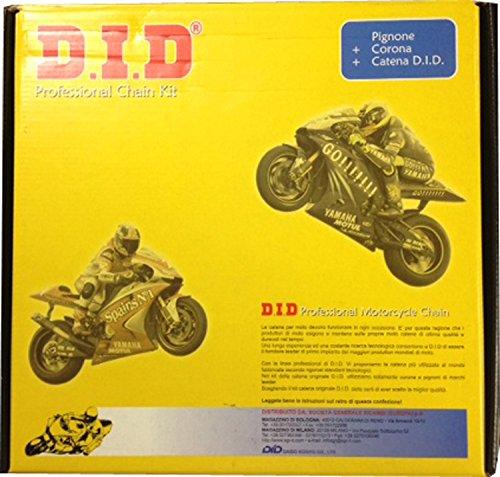 Kit DID Professional Kawasaki ER-6N 2006-2012, Kawasaki ER-6F 2006-2012 10603117
