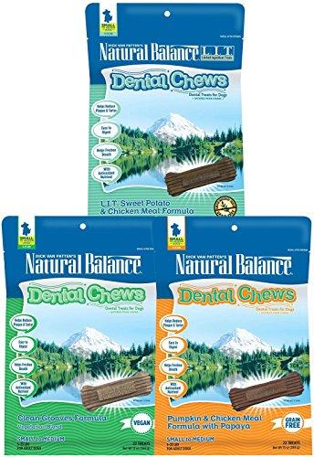Natural Balance LIT Small Breed Dental Chews Variety Bundle