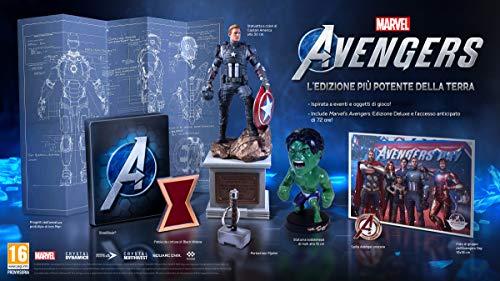 Marvel's Avengers - L'Edizione Più Potente Della Terra - Collector's - PlayStation 4 [Importación italiana]