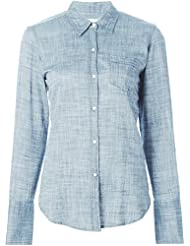 Nili Lotan Womens Chambray Shirt