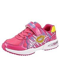 Pointss Girls Light Running Shoe Anti Slip Hiking Shoe Outdoor Waterproof Camping Trail Shoe Mountaineering Shoe