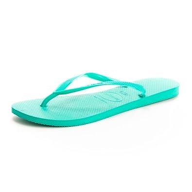58806f95d0c841 Havaianas Women s Slim Toe Separator - Vert Tea Size  5  Amazon.co ...