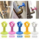VT BigHome 5 PCS Door Knob Silencer Crash Pad Wall Protectors Silicone Door Stopper Anti Collision Stop Products