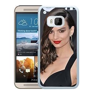 New Custom Designed Cover Case For HTC ONE M9 With Emily Ratajkowski Girl Mobile Wallpaper(202).jpg