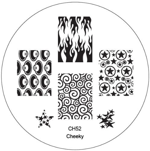 CH52 Professional Nail Art Salon Quality Stamp Template / Stamping Stencil / Image Plate With New Designs By VAGA