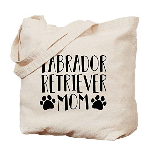- CafePress Labrador Retriever Mom Natural Canvas Tote Bag, Cloth Shopping Bag