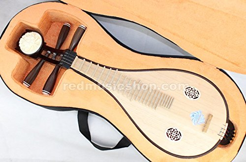Professional Rosewood Liuqin, Chinese Liuqin Lute by Xinghai
