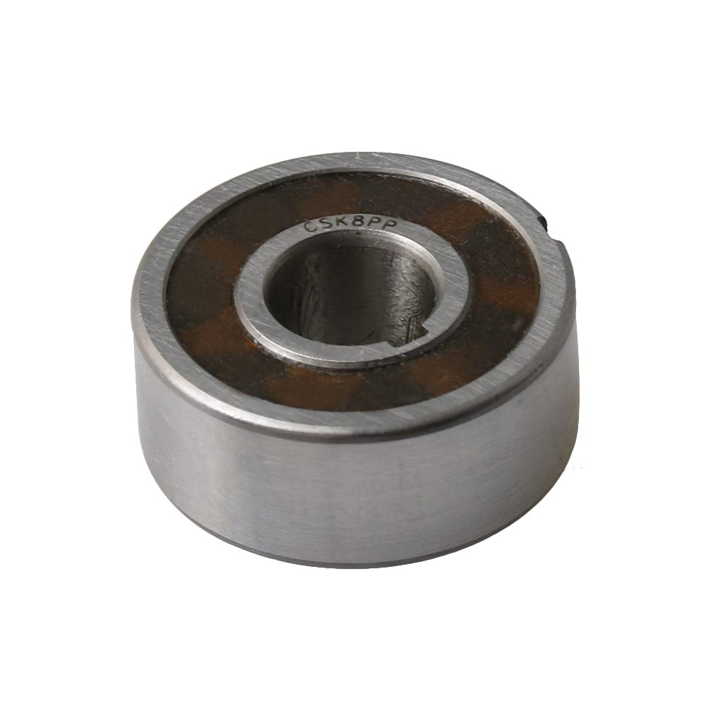 One-Way Bearing with Inner Outer Groove CSK8PP 8x22x9mm for Machinery Automotive Industry Household Appliances