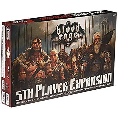 CMON Blood Rage 5th Player Expansion: Toys & Games
