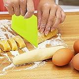 FASHIONROAD Dough & Bowl Scrapers, Plastic Dough