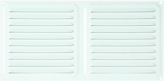 Brinox B70220A Rejilla de ventilación, Aluminio, 15 x 15 cm ...