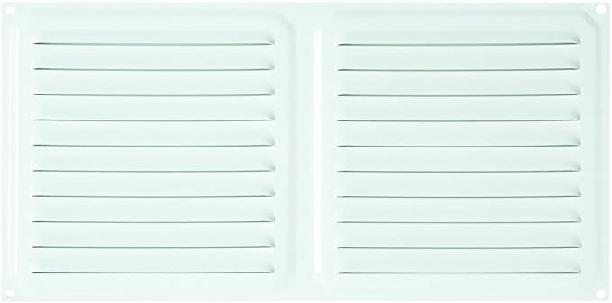 Brinox B70570D Rejilla de ventilación, Lacado Blanco, 30 x 30 cm: Amazon.es: Bricolaje y herramientas