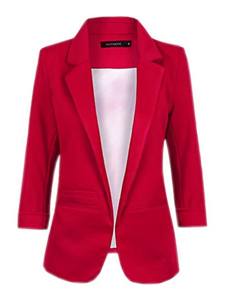 best website 42263 a90bf La vogue-Donna Giacca Primavera di Poliestere Abbigliamento Femminile Casual