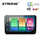 XTRONS Android 6.0 Octa-Core 64Bit 9 Inch Capacitive Touch Screen Car Stereo Radio DVD Player GPS CANbus Screen Mirroring Function OBD2 Tire Pressure Monitoring for VW Caddy Golf 2003-2013