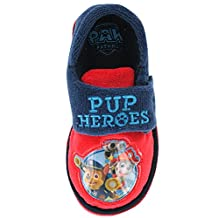 Paw Patrol Heroes Slippers Navy Sizes 5 to 10