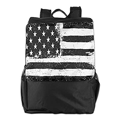 14d59b8f8f15 Newfood Ss Grunge Aged Black And White American Flag Independence ...