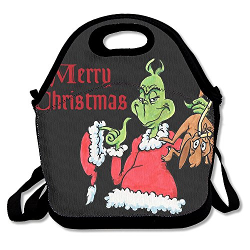 How The Grinch Stole Christmas Casual Lightweight College Backpack Laptop Bag School Travel Daypack - Dr Seuss Costume Makeup