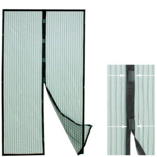 Insektenschutzvorhang Türvorhang Magnet Verschluss Insektenschutz Tür Fliegennetz Fliegengitter NEU