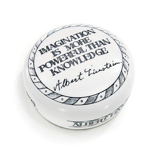 [해외]졸업 선물 Paperweight 」 상상력은 지식 보다 강력한 」 알 버트 아인슈타인 / Graduation Gift Paperweight\\