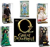 Disney Store Oz The Great and Powerful 5 Doll Gift Set Including OZ (Oscar Diggs), Glinda the Good, Wicked Witch of the West, Evanora and China Girl