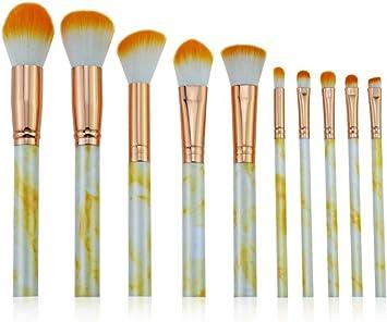 Demarkt Set de brochas de Maquillaje Juego de Brochas para Maquillaje de Ojos 10PCS: Amazon.es: Juguetes y juegos