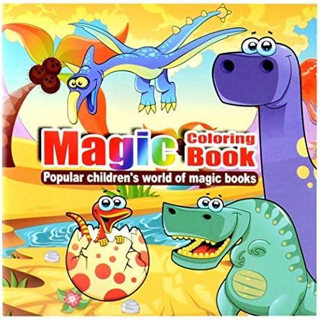 Adolenb Libro de Colorear portátil para niños DIY Libro de Colorear móvil Educativo Juegos educativos: Amazon.es: Deportes y aire libre
