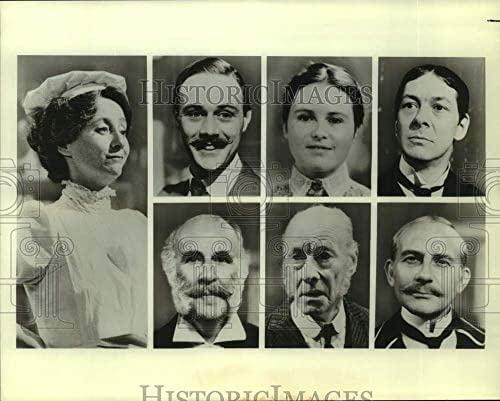 Historic Images - Press Photo Actress Victoria Plunkett and Collage of co-Stars