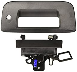 2007-2013 Chevrolet Silverado or GMC Sierra Black Bezel and Handle with Codeable Lock Package by GM 22755305
