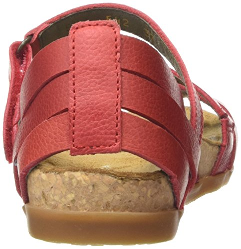 Nf42 Grosella Naturalista El Sandalias Mujer Rojo Red Zumaia wxfE7qE0H