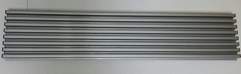 Micel 94512 - Rejilla Frigo-Horno 8 Elementos con acabados en gris inoxidable