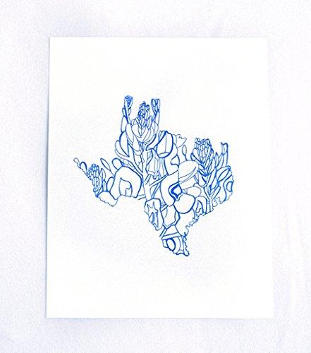 Texas Bluebonnet by Thimblepress®