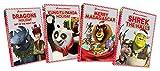 Dragons Holiday / Kung Fu Panda Holiday / Merry Madagascar / Shrek: The Halls (4-Pack)