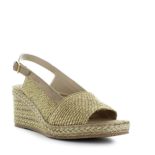 À Barcelò Aladierno été Chaussures Doré 2018 Femme Semelle Printemps Paloma Compensée Sandale FZ4wYwEcq8