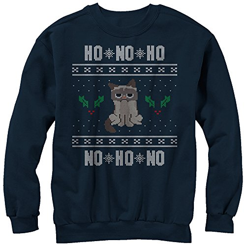 Grumpy Cat Ho Ho No Ugly Christmas Sweatshirt